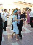 2004 Sofie och Göte på Simona och Fredriks bröllopsfest, Tjeckien