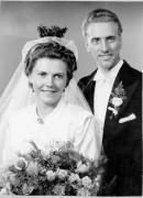 1945 Märta Götes bröllopsfotografi