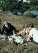 1969 Småland?, Märta, Göte, Beate och Gert