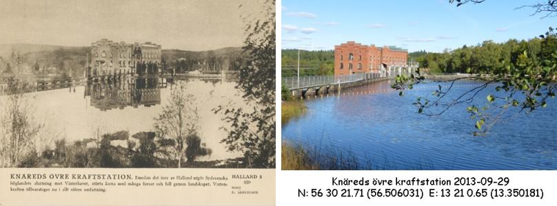 STF vykort nr 8 -Knäreds övre kraftstation