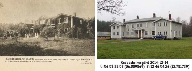 STF vykort nr 32 -KNOBESHOLMS GÅRD