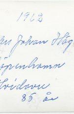 Anders Johan H-A 1962 baksida