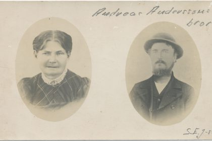Johannes Andersson senare H-A Botilla Johannesdotter