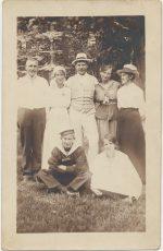 Kort till Johan August från H-A 1917