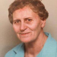"""Karen Andersson, ca 75 år. Vivis ord: """"Og det sidste i denne omgang, er min Mor, som døde da hun var 77 år, billedet er nok taget et par år før. """""""