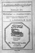 Automobilregister 1924