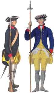 Uniform Jönköpings Regement 1715