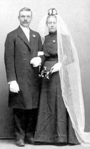 John and Sigrids wedding photo