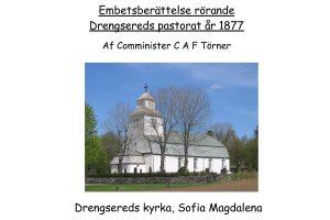 Review Drängsereds parish 1877