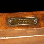 Detalj på Märtas gungstol