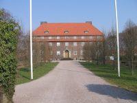 Svalövs folkhögskola. Den gamla huvudbyggnaden.