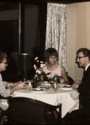 1968 Märta 50 år, Restaurang Översten i Malmö, Märta, Christina och Göte