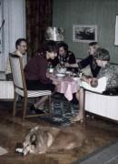 1975 Rådmansgatan, Göte, Christina, Rolf, Christina och Märta, (Philippe)