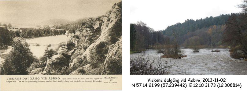 STF vykort nr 2 -Viskans dalgång vid Åsbro