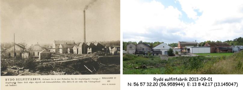 STF vykort nr 17 -Rydö sulfitfabrik