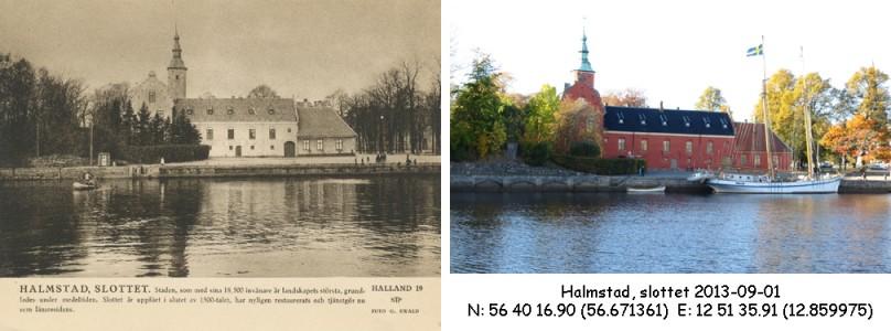 STF vykort nr 19 -HALMSTAD, SLOTTET