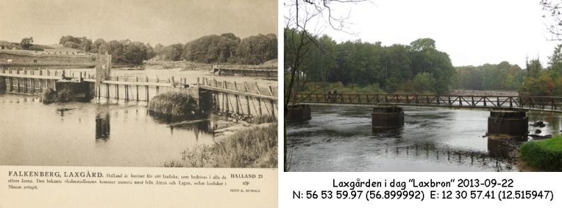 STF vykort nr 23 -FALKENBERG, LAXGÅRD
