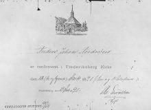 1891 Konfirmation