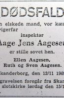 1969 Aage_Jens_Aagesen-Dödsannons