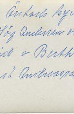 A J H-A Anne Sigfrid Berta August Andreasson baksida