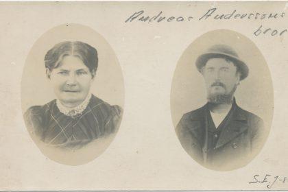 Johannes Andersson och Botilda Johannesdotter